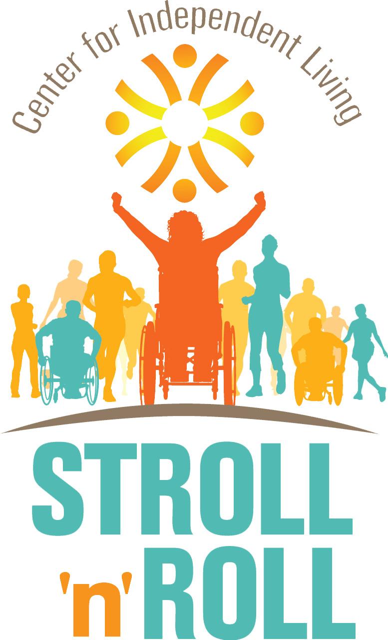 Stroll 'n' Roll logo